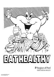 Small Picture Healthy Food Coloring Pages Color By Number Coloring Pages With