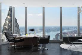 office pics. 200 Park Ave., Where Tishman Speyer Has Built A Floor-to-ceiling Office Pics