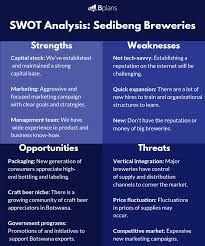 Swot Matrix Examples Swot Analysis How To Identify Your Strengths Bplans Blog