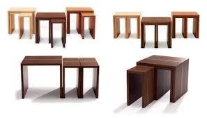 contemporary modular furniture. more nesting tables contemporary modular furniture design