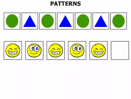 Patterns For Preschool Mesmerizing Identifying And Making Patterns Clip 4848 Preschool Math