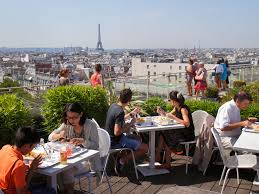 dining with eiffel tower view. where to get the best views of eiffel tower - photos condé nast traveler dining with view