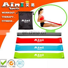 Stretch Band Loops Exercise Chart Loop Exercise Stretch Bands 4 Pack W Workout Guide