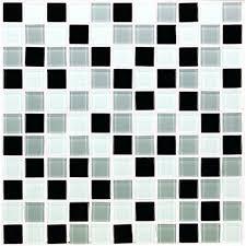 black and white backsplash crystal glass tile bathroom wall tiles black white glass mosaic tiles kitchen