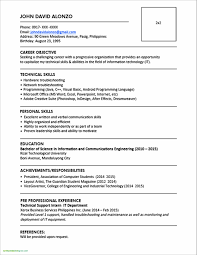 23 Resume Format For Graduate Students Free Sample Resume Best Of Of