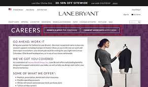 Lane Bryant Shoe Size Chart Lane Bryant Job Application Apply Online