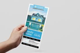 real estate templates for photoshop illustrator brandpacks real estate rack card template