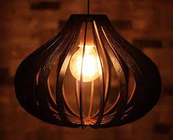 Decorative Hanging Light Fixtures Buy Daedal Dome Wooden Light Hanging Pendant Decorative