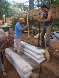 image source lily ann fouts posted in earthbag building tagged earthbag retaining walls