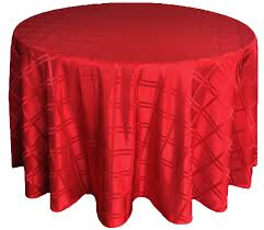 90 round plaid jacquard polyester tablecloths 6 colors