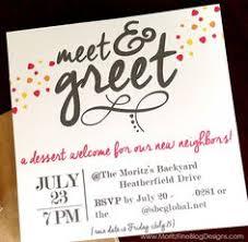 Meet And Greet Invitations Samples Meet And Greet Invitation Sample Under Fontanacountryinn Com