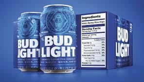 bud light incluye rótulos de