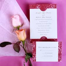 red wedding invitations online part 2 Pink And Gold Wedding Invitation Kits cheap elegant damask red wedding invitation kits ewi002 Pink and Gold Glitter Wedding Invitations