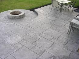20 photos gallery of diy ideas for concrete patio designs