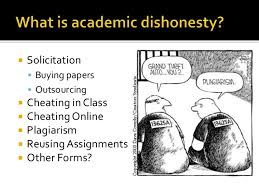 academic dishonesty 3