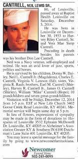 Neil Lewis Cantrell - obituary - Newspapers.com