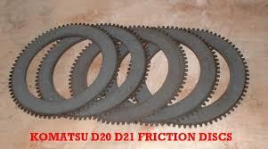 komatsu d21 d21 steering clutch