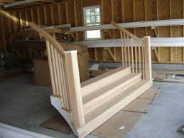 stairs from garage to house. Unique From The Staircase Is Made Of Pressure Treated Southern Yellow Pine Underneath  The Parts That Will Contact The Ground And Douglas Fir Inside Stairs From Garage To House I