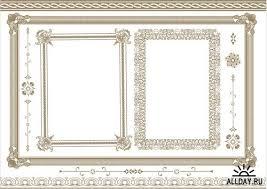 Винтажные рамки и диплом в векторе allday народный сайт о дизайне Винтажные рамки и диплом в векторе