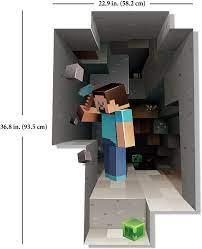 Minecraft Wall Decal Steve Mining ...