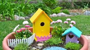 how to build a fairy garden. How To Build A Fairy Garden