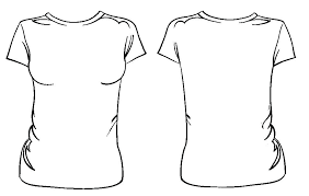 T Shirt Template Vector Free Download Illustrator Womens Downl
