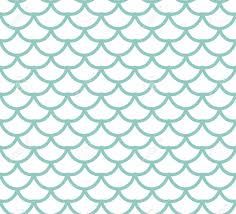 Mermaid Tail Pattern Unique Fish Scales Seamless Pattern Fish Skin Endless Background Mermaid