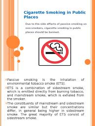 cigarette smoking in public places presentation tobacco smoking cigarette smoking in public places presentation tobacco smoking asthma