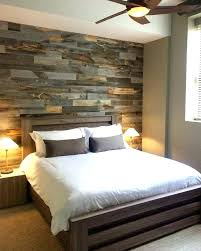 remarkable farm pallet wood accent wall bedroom