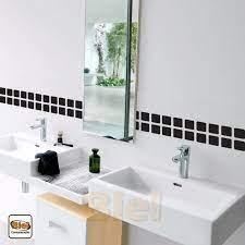 Decoração de banheiros com faixas de pastilhas de vidro há opções para todos os estilos no momento de usar faixa de pastilhas no banheiro. Kit 10 Faixas Banheiro Adesiva Decorativo Faixa Azulejo Mercado Livre