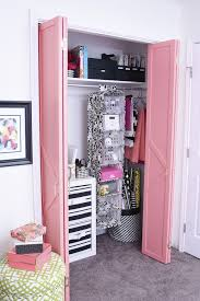 this diy bifold closet door makeover looks like a million bucks but cost under 50