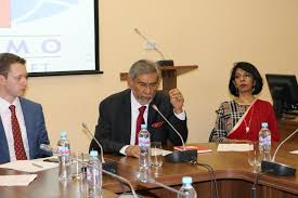 of international affairs mgimo university with the support of the embassy of sri lanka in the russian federation held an international round table