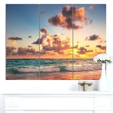 beach canvas wall art on of large uk