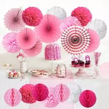 Paper Flower Balls To Hang From Ceiling Window Ceiling Decoration Paper Flower Ball Honeycomb Ball Paper Fan Flower Set Wedding Birthday Party Decoration Decoration