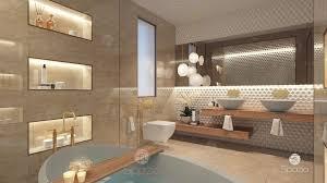 modern master bathroom interior design. Modren Interior Salle De Bains Style Par Spazio Interior Decoration LLC And Modern Master Bathroom Design E