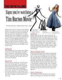 english style analysis magazine jpg essay about tim burton