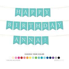 happy birthday customized banners happy birthday banner personalized amazon com