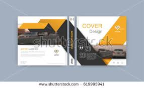 brochure template book cover design le sheet abstract position with images gray
