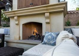 modular fireplace modular outdoor fireplace kit canada