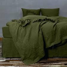 green duvet cover linen duvet cover green olive forest green duvet cover nz