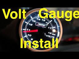 volt gauge install prosport performance series volt gauge jz volt gauge install prosport performance series volt gauge 1jz supra