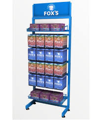 Table Top Product Display Stands Simple Confectionery Products Table Top Display Stand GKW Retail