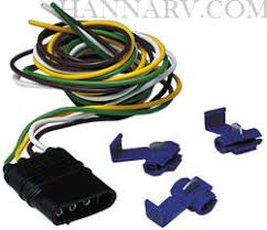 hopkins 48025 4 wire flat tow vehicle connector kit mfg 48025 hopkins 56009 at Tow Vehicle Wiring Harness