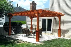 covered pergola yard s design ideas patio costco