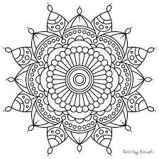 Small Picture Mandala Coloring Image Gallery Printable Mandala Coloring Pages