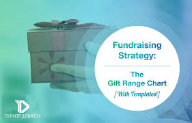 Fundraising Chart Ideas Fundraising Strategy The Gift Range Chart With Templates