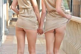 Two naked girls toying from Satir
