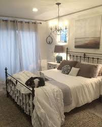 wrought iron bedroom furniture. Modren Furniture Iron Headboard In A Neutral Guest Room For Wrought Bedroom Furniture T