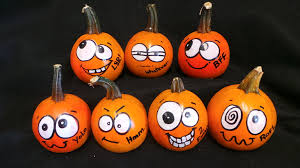 painted pumpkin faces ideas home design cute pumpkins crafthubs to paint chit full size