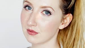 makeup tutorial for fair skin contouring lips bronze eyes